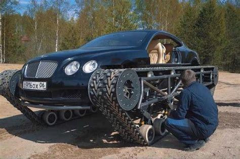 Modifikasi Bentley Continental by Gokil Mobil Bentley Ini Dimodif Jadi Semi Tank Cek Nih