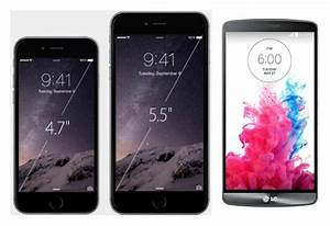 iPhone 6 vs LG G3: does bigger equal better? - AndroidPIT