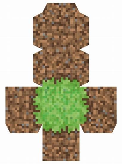Minecraft Block Grass Printable Printables Tree Blocks