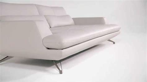grand canapé 3 places intermède en cuir design sacha