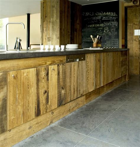 meubles de cuisine en bois unique meuble cuisine bois brut lovely design de maison