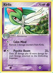 Kirlia - EX Delta Species #47 Pokemon Card