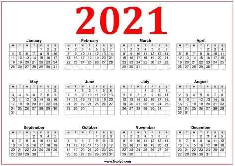 printable calendar  week starting monday red