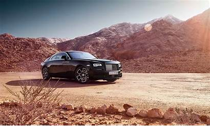 Royce Rolls 4k Wraith Badge Wallpapers
