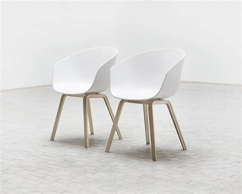 hay about a chair acc22 wit licht grijze stof nordic