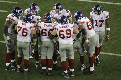 New York Giants 4 Distinguished Super Bowl Records