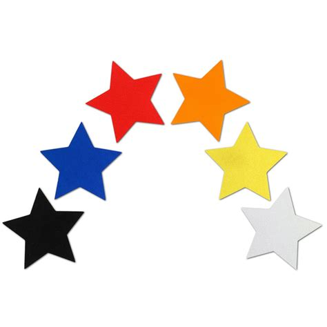 Zum Aufkleben by Reflektor Sterne Aufkleber Set