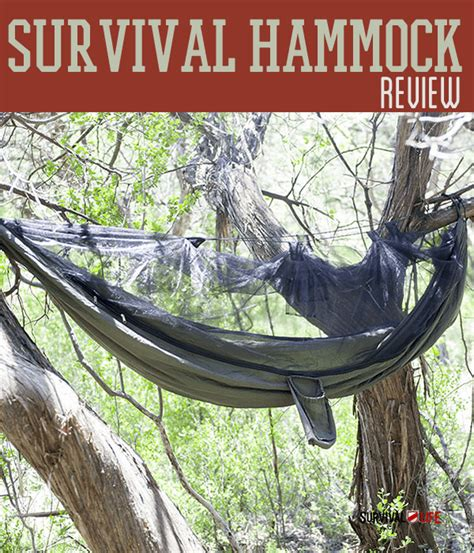 Survival Hammock by Tactical Hammock Review Survival