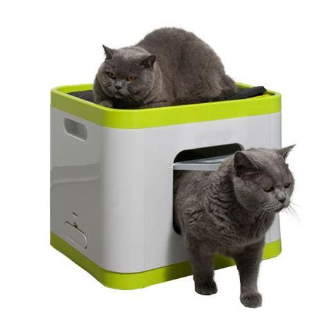 maison de toilette roll n clean quot cube quot la maison de toilette 2 en 1 pour chats