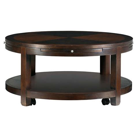 wonderful round coffee table with storage for living room
