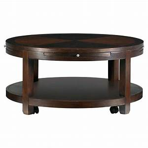 round coffee table storage bestsciaticatreatmentscom With circle storage coffee table
