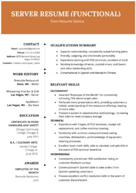 Chronological Resume Summary Of Qualification by Resume Format Mega Guide How To Choose The Best Type For
