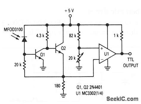 Ttl Photodetector Fiberoptic Receiver Electrical