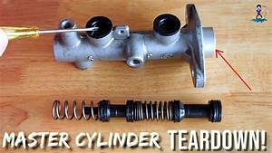 Vehicle Brakes  Master Cylinder How It Works