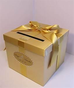 wedding card box gold gift card box money box holder customize With wedding gift card box
