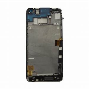 HTC One (M7) Silver Display Assembly with Frame | Fixez.com