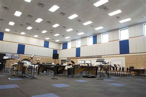 crisp county high school band room addition lra constructors