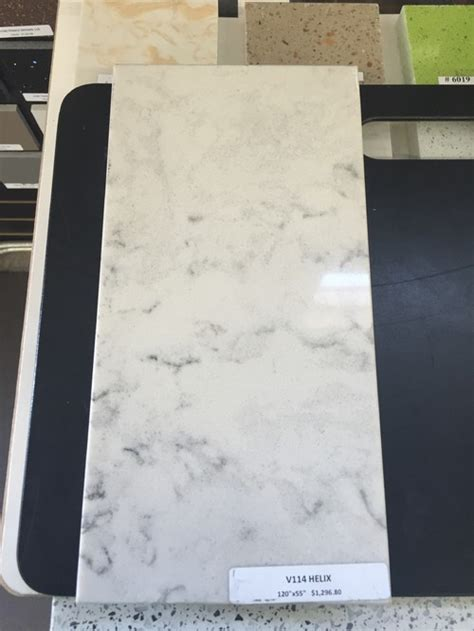 lg minuet counters  marble backsplash