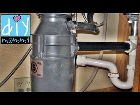 how do i install a kitchen sink garbage disposal installation insinkerator how to replace 9248