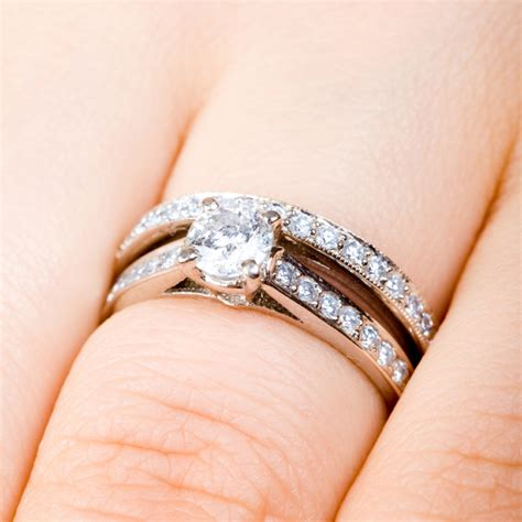 how to wear engagement ring and wedding band kandace 39 s the guestbook is standard at a wedding and has been done mostly only one way