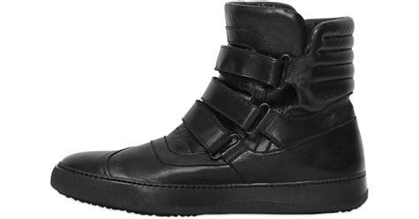 lyst bb bruno bordese velcro nappa leather high top