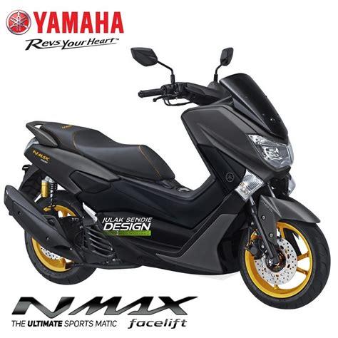 Nmax 2018 Gambar by Yamaha Nmax 2018 Minor Change Dan Pakai Aks Sss Bakal