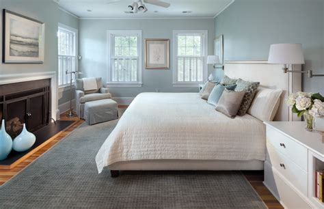 Master Sweet Blue   Transitional   Bedroom   dc metro   by