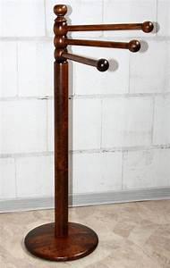 Handtuchhalter Stehend Holz : handtuchhalter st nder standhandtuchhalter holz massiv kolonial braun nu baum ebay ~ Whattoseeinmadrid.com Haus und Dekorationen