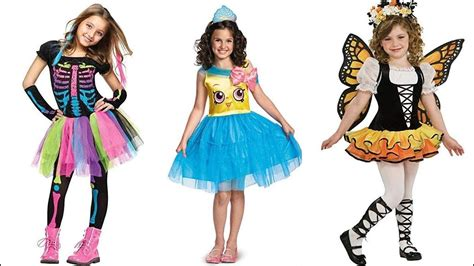 Disfraces para niñas/ Girls Halloween Costumes YouTube