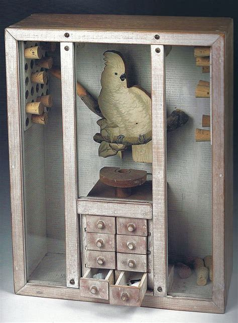 joseph cornell untitled napoleonic cockatoo