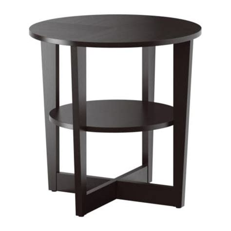 Vejmon Side Table  Blackbrown  Ikea. Front Desk Jobs In Houston Tx. Fbla Help Desk. Metal Storage Drawers. Solid Wood Changing Table. How Many Calories Do You Burn At A Standing Desk. Drawer Slides Soft Close Side Mount. Metal Wood Table. 2 Person Workstation Desk