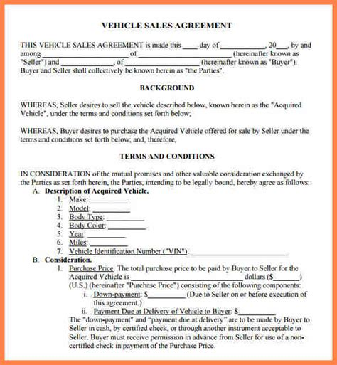 small business purchase agreement template purchase