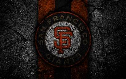 Giants Francisco San 4k Wallpapers Mlb Baseball