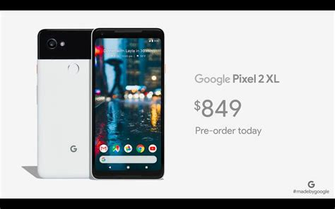 pixel 2 pixel 2 xl pre orders starts from october 26 in india starts from 61 000