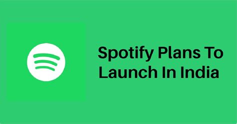 spotify may launch its service in india in q1 2019