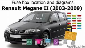Fuse Box Location And Diagrams  Renault Megane Ii  2003