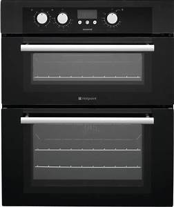 Hotpoint Bu72k Double Built Under Electric Oven