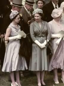 Queen Elizabeth and Her Sister Margaret