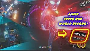 World Record Zombies in Spaceland Speed Run ! Call of duty ...
