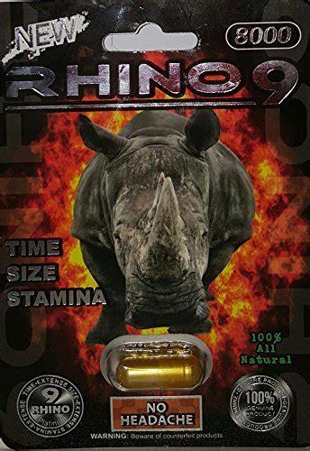 rhino   male enhancer pill  days  pills bottle