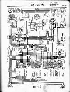Wiring Diagram For 57 Thunderbird