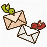 Envelope Mail Clipart Delivery Icon Mailbox Letter