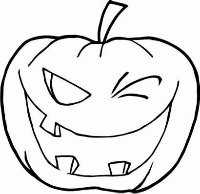 Coloring Halloween Pumpkins Winking Pages Gymnastic Beam