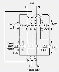 single phase dol starter wiring diagram vivresavillecom With single phase wiring