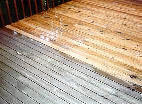 faq about deck staining sealing spray and stain