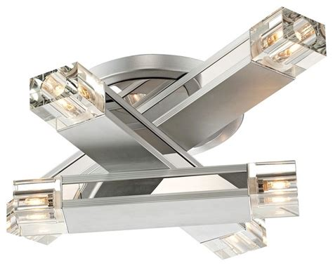possini design three stacked rods ceiling light