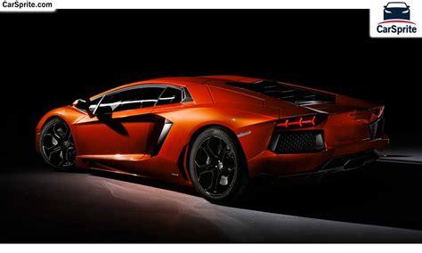 Lamborghini Aventador 2018 Prices And Specifications In