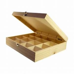 Jolie Boite De Rangement : bo te de rangement casiers en bois brut d corer ~ Dailycaller-alerts.com Idées de Décoration