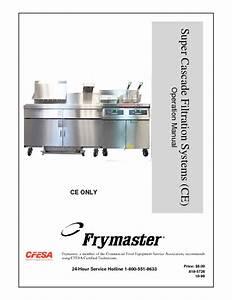 Super Cascade Filtration Systems Ce Manuals