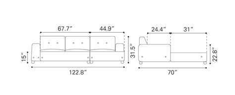 sectional sofa dimensions amazing sectional sofa dimensions 9 sectional sofa